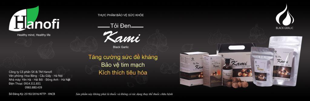 Tỏi đen Kami - Hanofi
